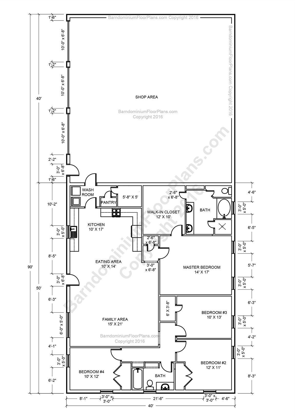 Found On Bing From Www Pinterest Com Metal House Plans Barndominium Floor Plans Shop House Plans