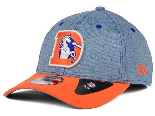 637f3cf1cfa Denver Broncos New Era NFL Change Up Heather 39THIRTY Cap Hats