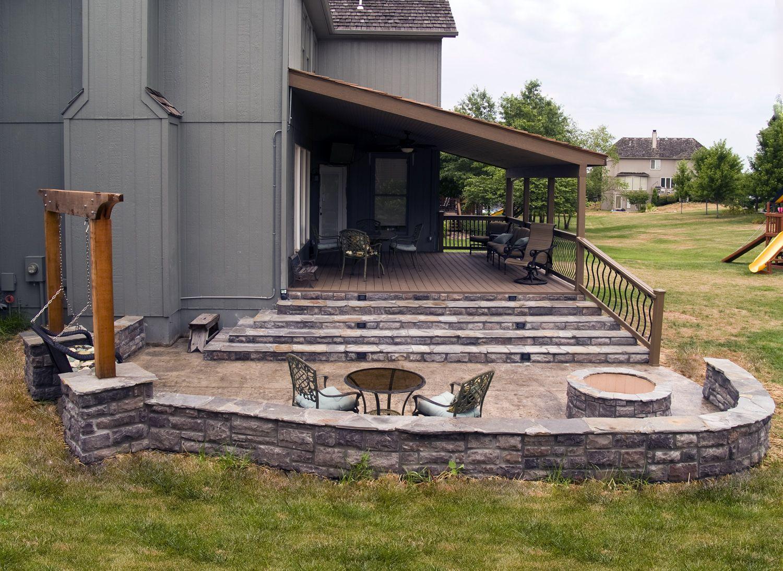 Simple Small Deck Ideas Backyards Compact Design
