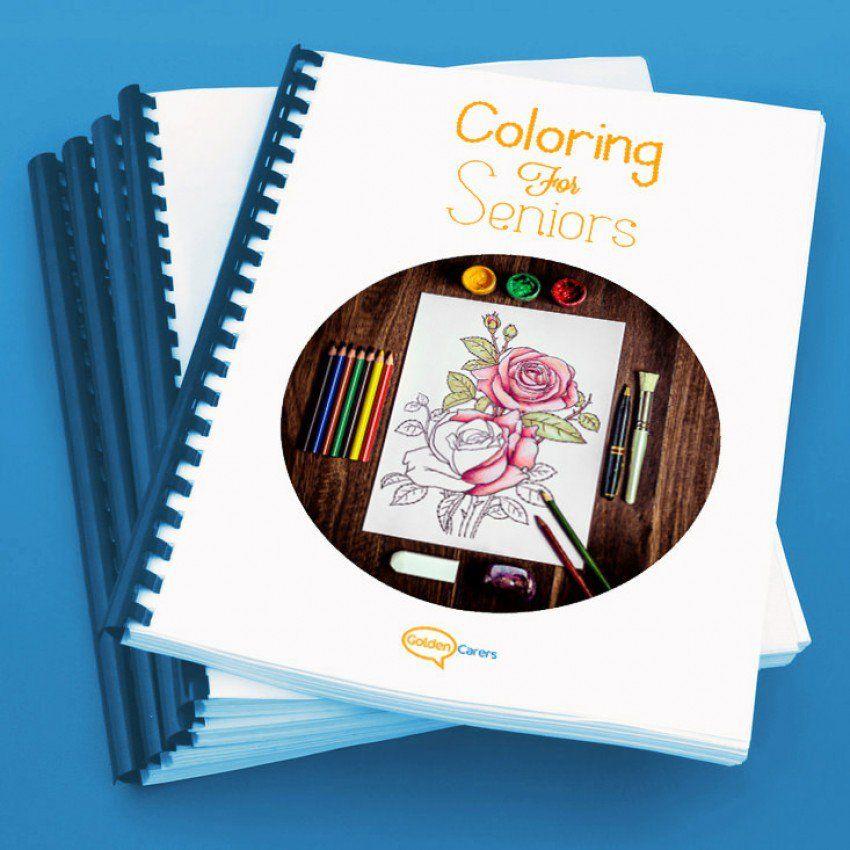 Coloring for Seniors   GIFT IDEAS   Pinterest   Activities, Elderly ...