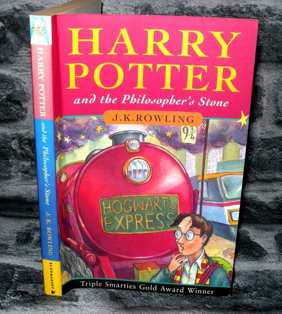 Details About Harry Potter Philosophers Stone J K Rowling 1997