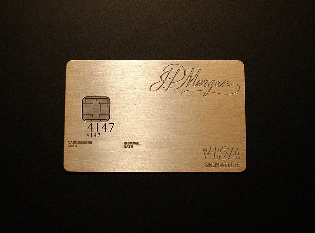 The World S Most Exclusive Credit Card Jp Morgan Chase Palladium The 1 Of The 1 Card Join Credit Card Design American Express Black Card Credit Card