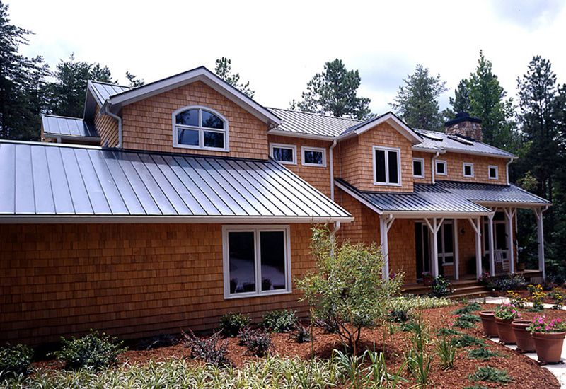 Metal Roofing Photo Gallery Metal Roofing Alliance Photos Of Metal Roof Types And Styles Metal Roof Cost Residential Metal Roofing Metal Roof