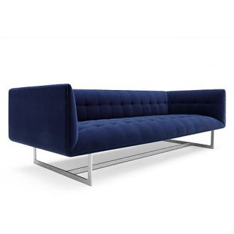 Carlo Colombo Edward Sofa.   Please contact Avondale Design Studio for more information on any of the products we highlight on Pinterest.