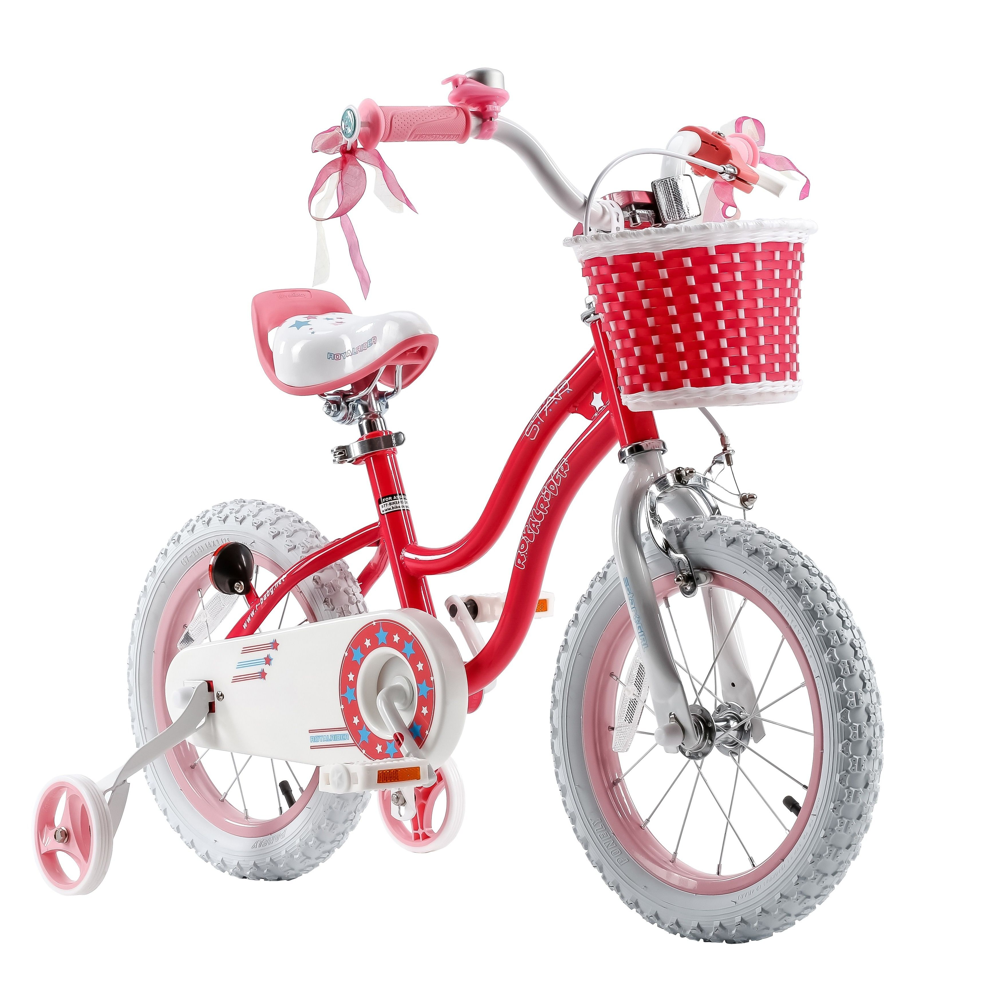 994e63d4b480 Royalbaby Stargirl 16-inch Kids' Bike with Training Wheels and Basket - 16  (Pink)