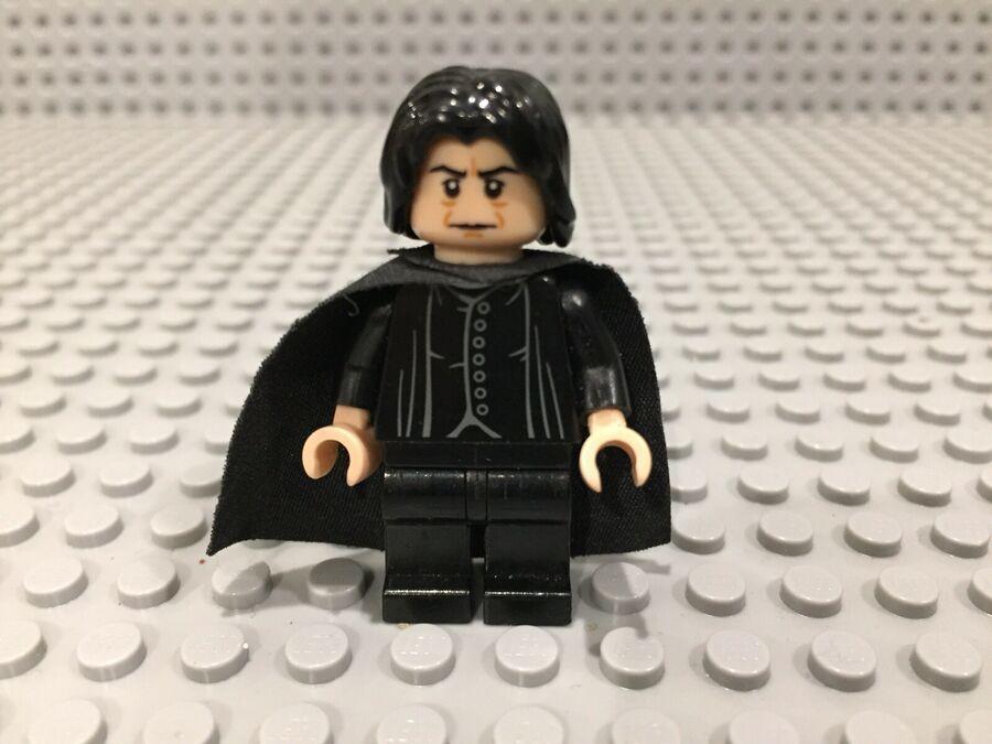 Lego Harry Potter Hogwarts 4 Edition Professor Severus Snape Minifigure~4842 ,
