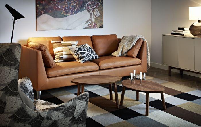 Stockholm Sofa Seglora Natural Ikea Home Living Room Living Room Decor Ikea Living Room