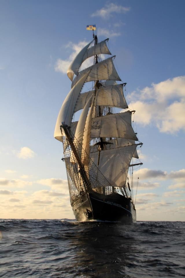 How to sail a Full-Rigged-Ship - The Sørlandet Part 1 ...