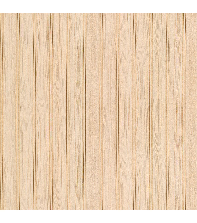Montana Taupe Wood Panel Wallpaper Joann Wood Wood Paneling Faux Brick Wallpaper