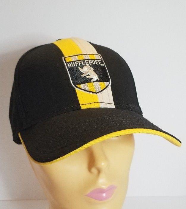 888657accca Wizarding World Of Harry Potter Hufflepuff Baseball Cap Hat Universal NEW  NWT  UniversalStudios