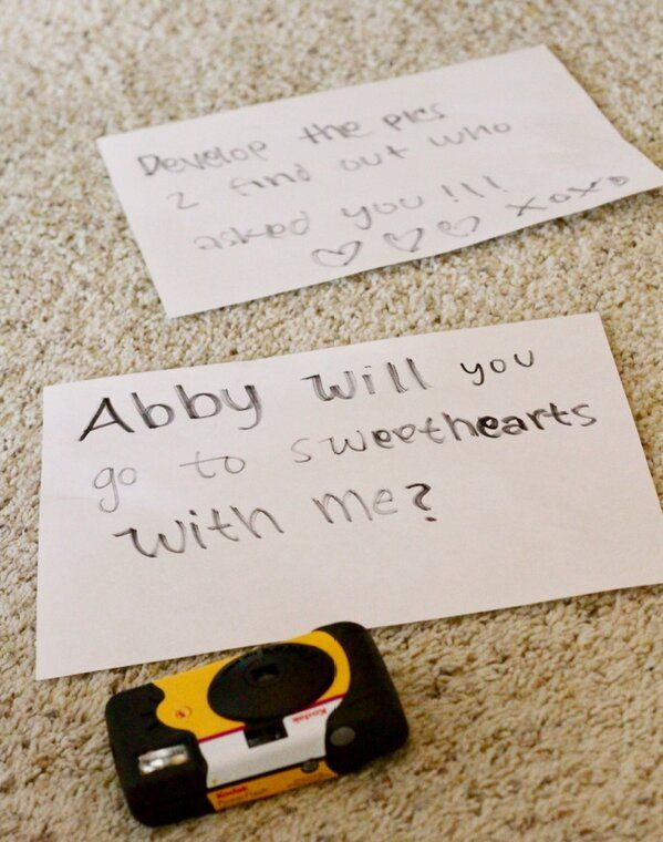 How to ask a girl to the dance