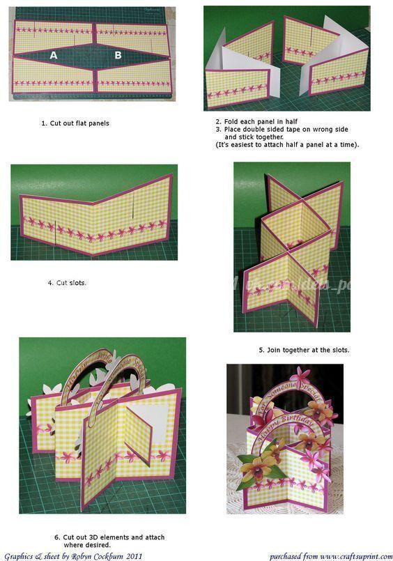 Как сделать открытку гармошку своими руками с фото, днем рождения пусть