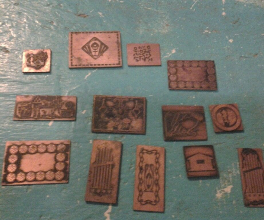 Copper Printing Plates Antique Vintage 12 Pc Lot mixxed diy craft #Unbranded & Copper Printing Plates Antique Vintage 12 Pc Lot mixxed diy craft ...