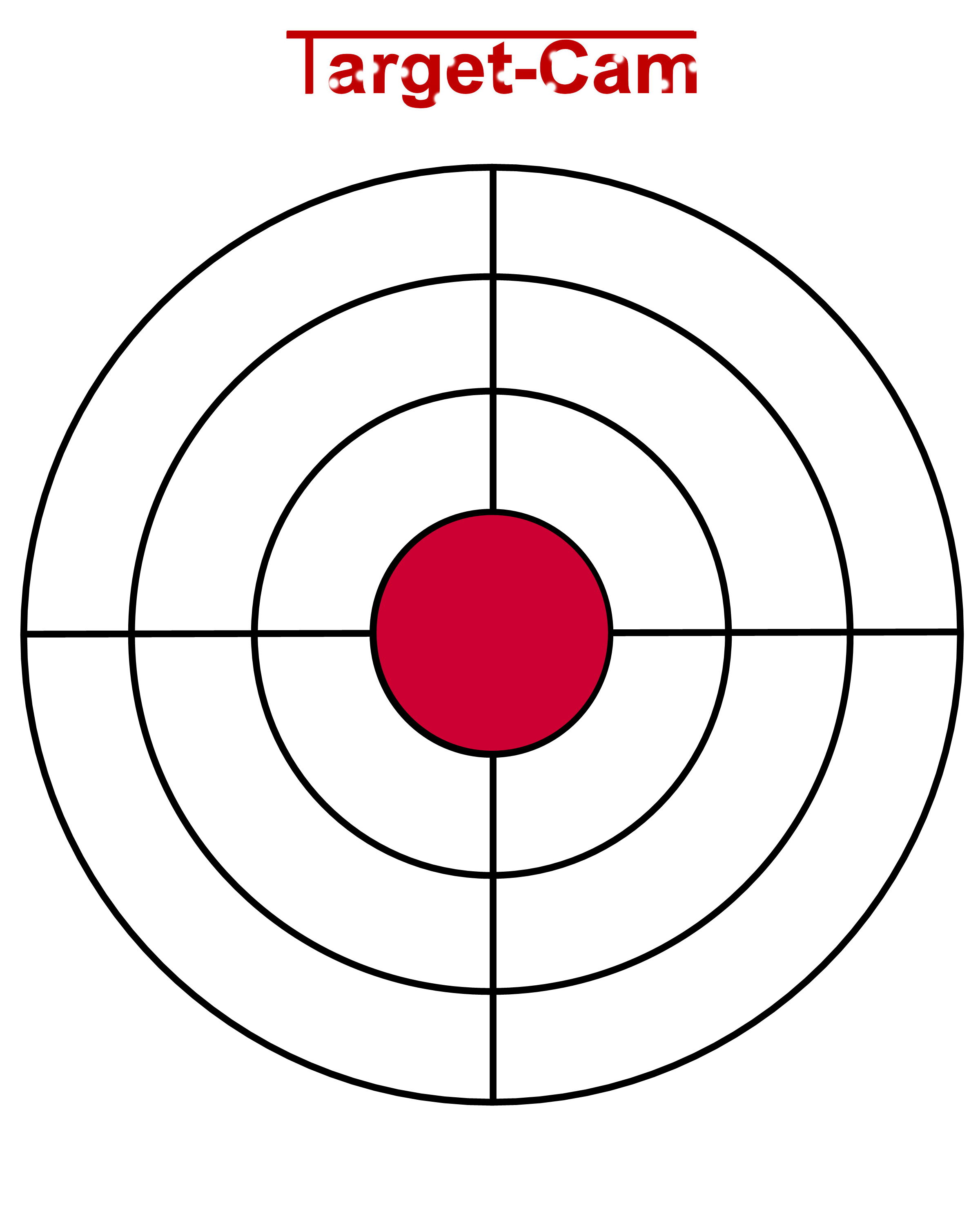 photo about Printable Air Rifle Targets named Pin upon concentration-cam
