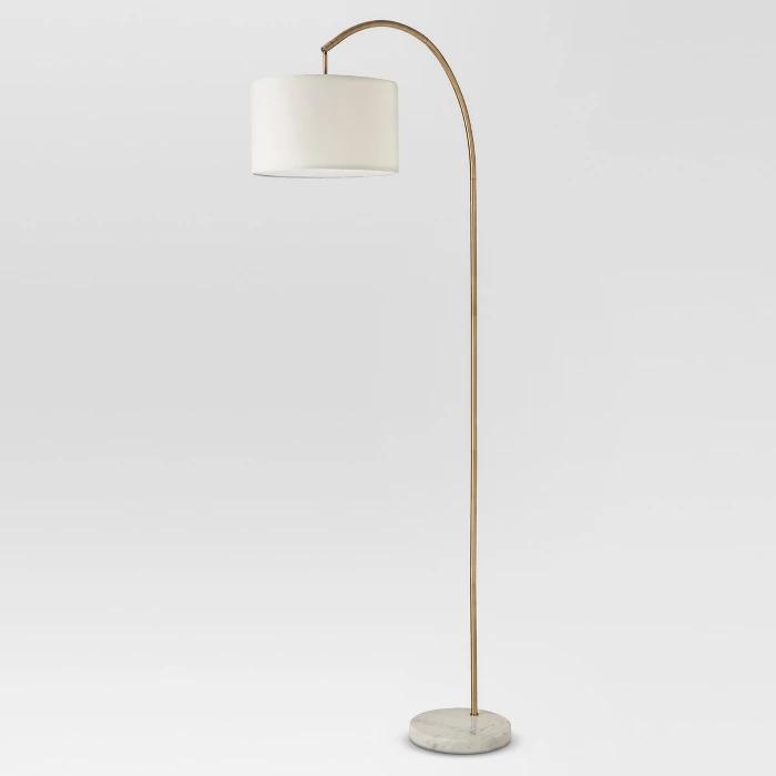 Marble Base Floor Lamp Br