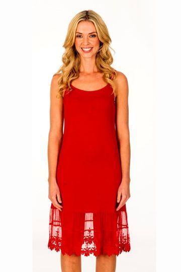 Threadz clothing The Lace Slip - Womens Slips - Birdsnest Online Clothing Store