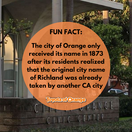 Only After The City Of Richland Built A Post Office Did They Realize That Their Name Was Already Taken The City Has Been Name Fun Facts Orange City Toyota Usa