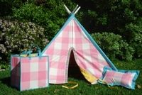 Lucy & Michael Play Tent - Sophia #kids #outdoor #playtent