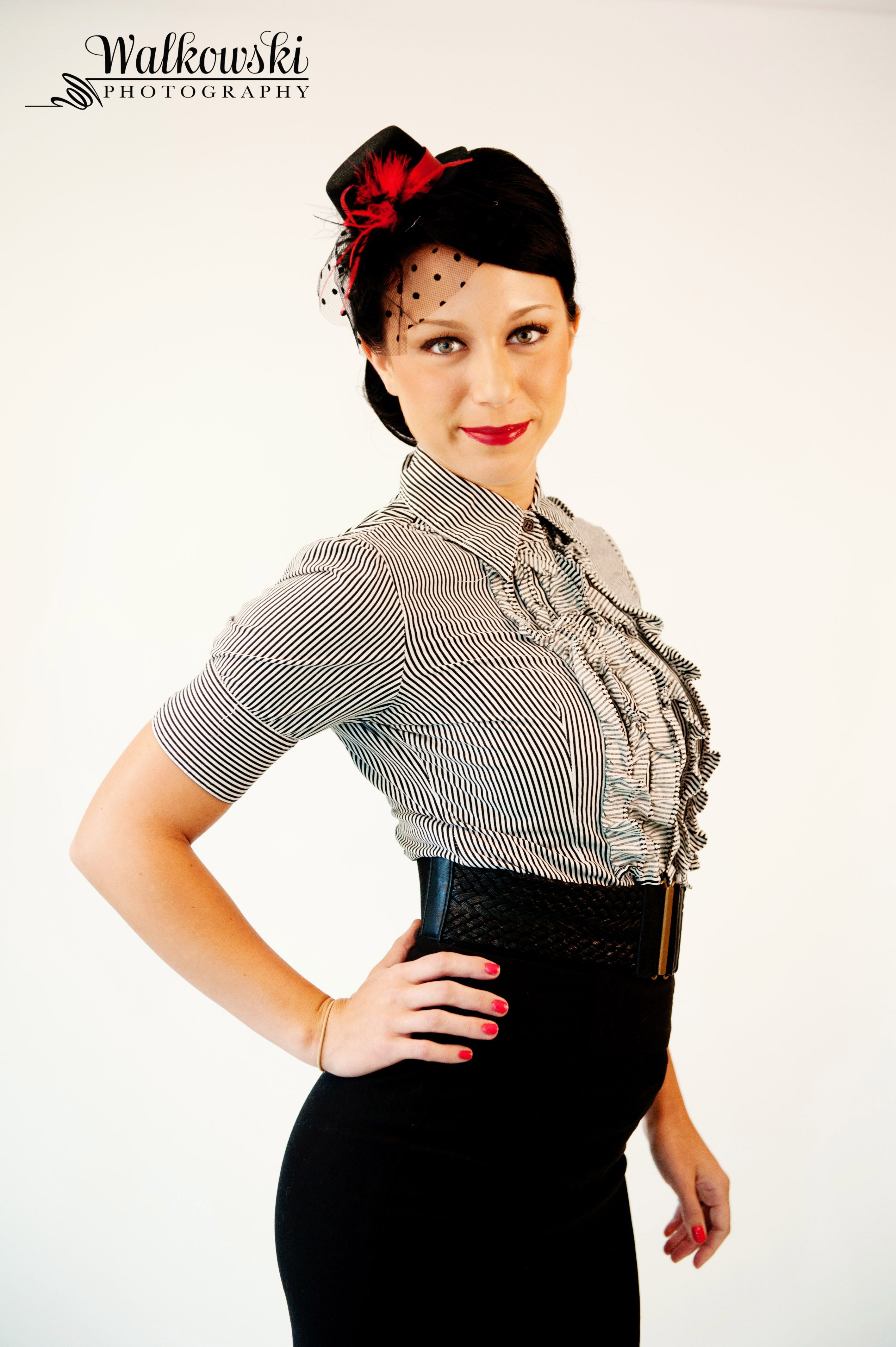 More Forties Inspired Flair: More Hair & Makeup Styling Using 1940s And 50s Glam As