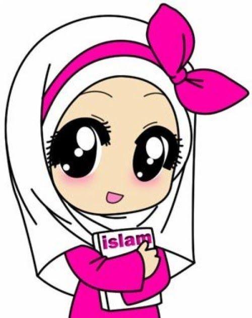 Animasi Anak Perempuan : animasi, perempuan, Keren, Gambar, Kartun, Remaja-, Muslim, Perempuan, Animasi, Wanita, Download, Kartun,