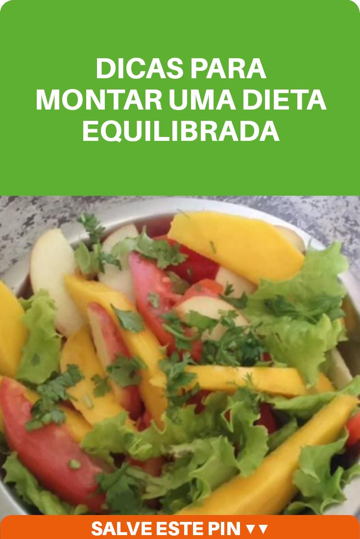 Dieta como montar
