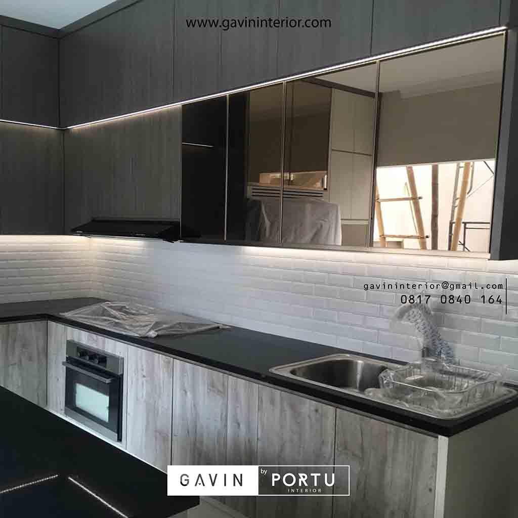 Kitchen Set Design Modern Model Letter L Desain Dapur Desain Modern