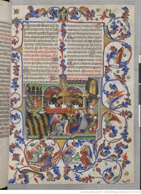 Breviarium secundum ordinem Cisterciencium , dit Bréviaire de Martin d'Aragon Date d'édition : 1380-1450 Type : manuscrit Langue : Français