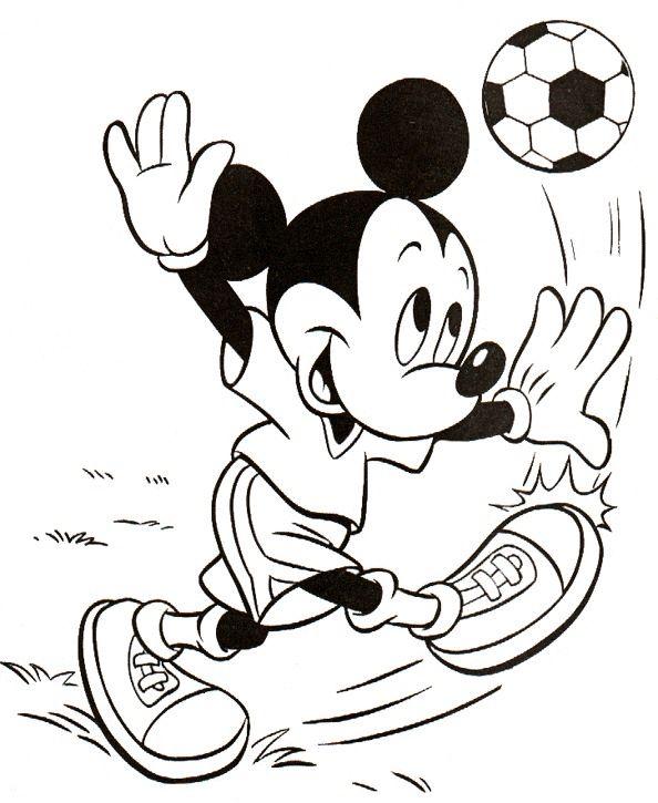 Disney Målarbilder för barn. Teckningar online till skriv ut. Nº 164 ...