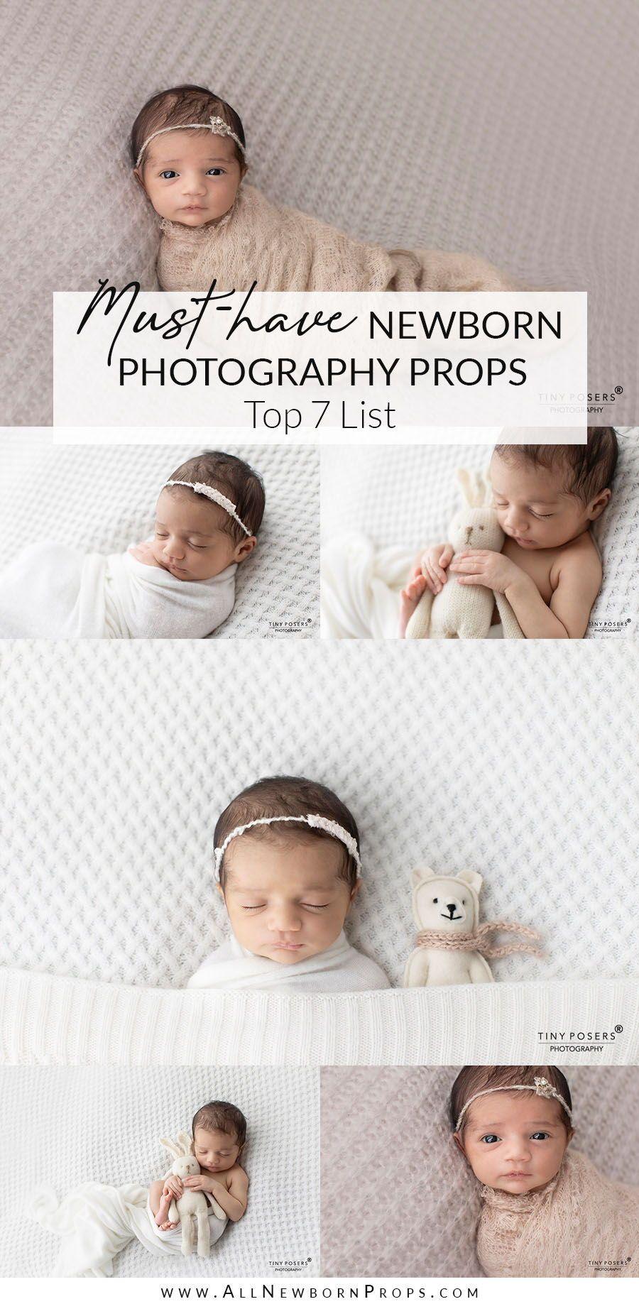 Props for Newborn Photography: 7 Essential, Beginner