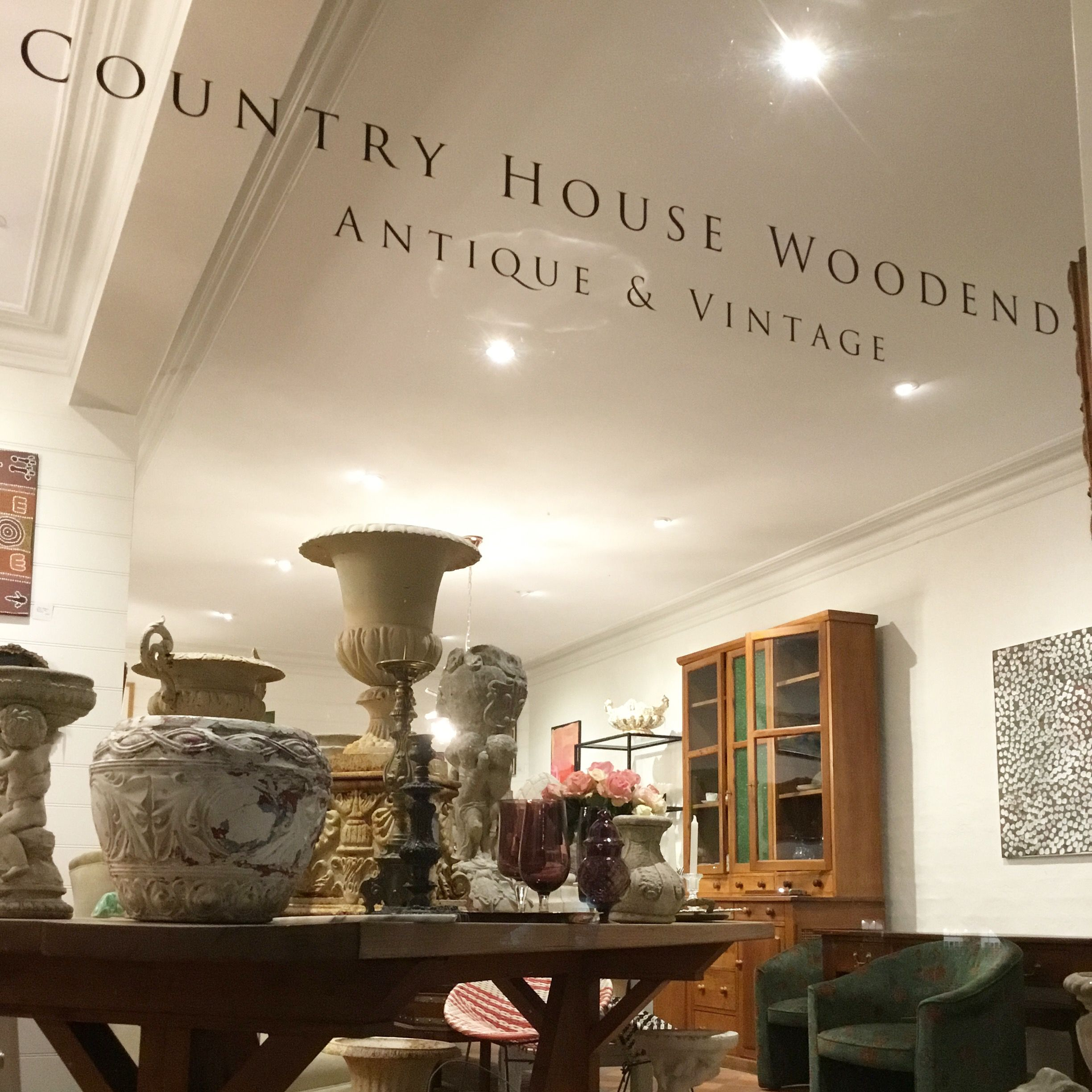 Window Shopping At Country House Woodend