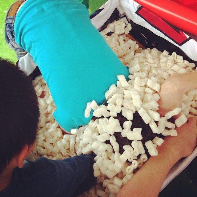 "@roparun's photo: ""Lekker grabbelen! #Grabbelton #Wereldhavendagen #Smaragd #Roparun"""