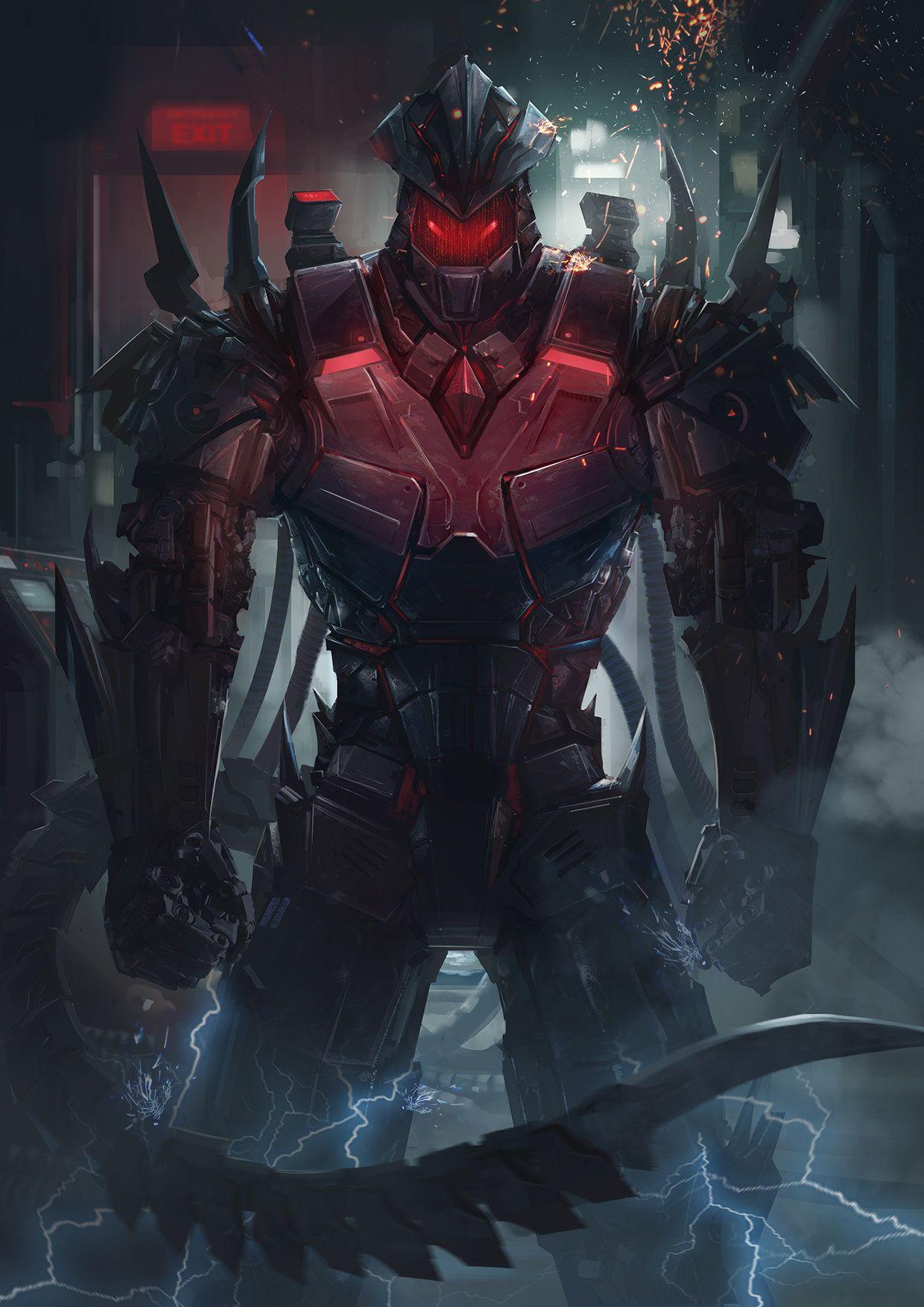 ArtStation - Battle of Steel, Zack Cy | Sci fi concept art
