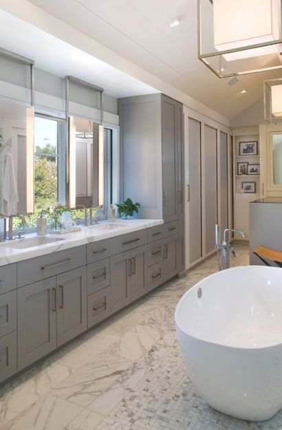Why Bathroom Remodeling How To Set Bathroom Remodeling: The Psychology Of Why Gray Kitchen Cabinets Are So Popular