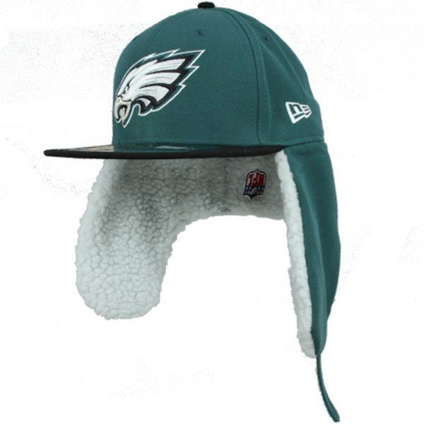 fbbaa3b393bf7 NFL Philadelphia Eagles New Era 59Fifty Fitted Hat Size 6 7 8 Dog Ear Cap  5950  NewEra  PhiladelphiaEagles