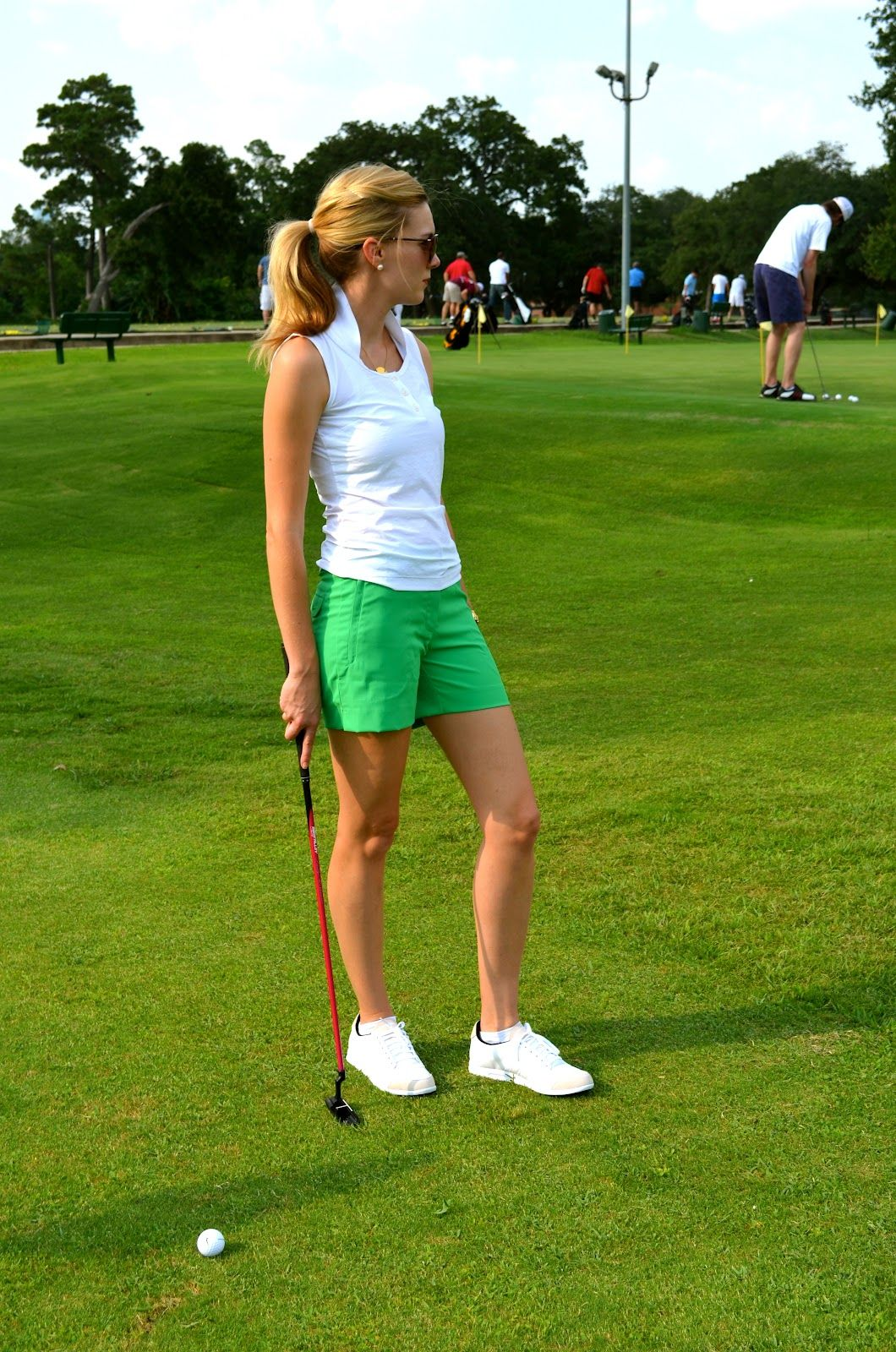 C. Style Blog- Golf Anyone? Womenu0026#39;s Golf Attire | C. Style Blog Outfits by C. Style (Carly Lee ...