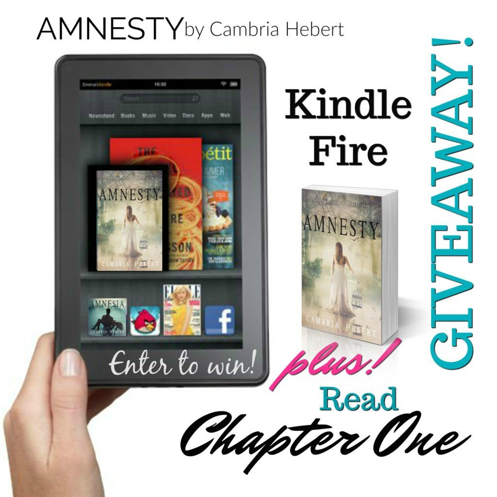 kindle giveawayamnesty Cambria hebert, Kindle, Chapter one
