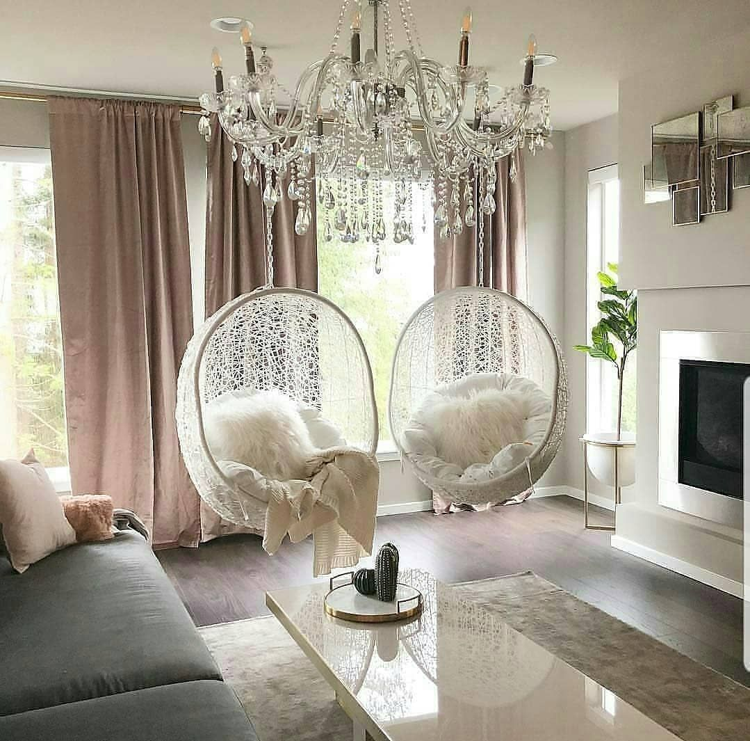 Indoor Swing Goals Yay Or Nay Don T Forget To Share Your Thoughts Credits Lhing09 Via Trending Decor Inspire Me Home Decor Living Room Decor