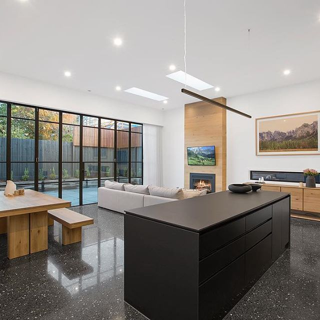 37 GLENEAGLES AVE MORNINGTON | Private residence | Steel bifold doors with windows ~ 10 doors at 3m high ~ for a new boutique residential townhousu2026 & 37 GLENEAGLES AVE MORNINGTON | Private residence | Steel bifold ...