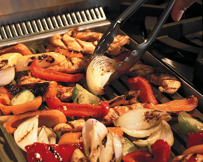 Bring the grill indoors with Wolf's Charbroiler feature.