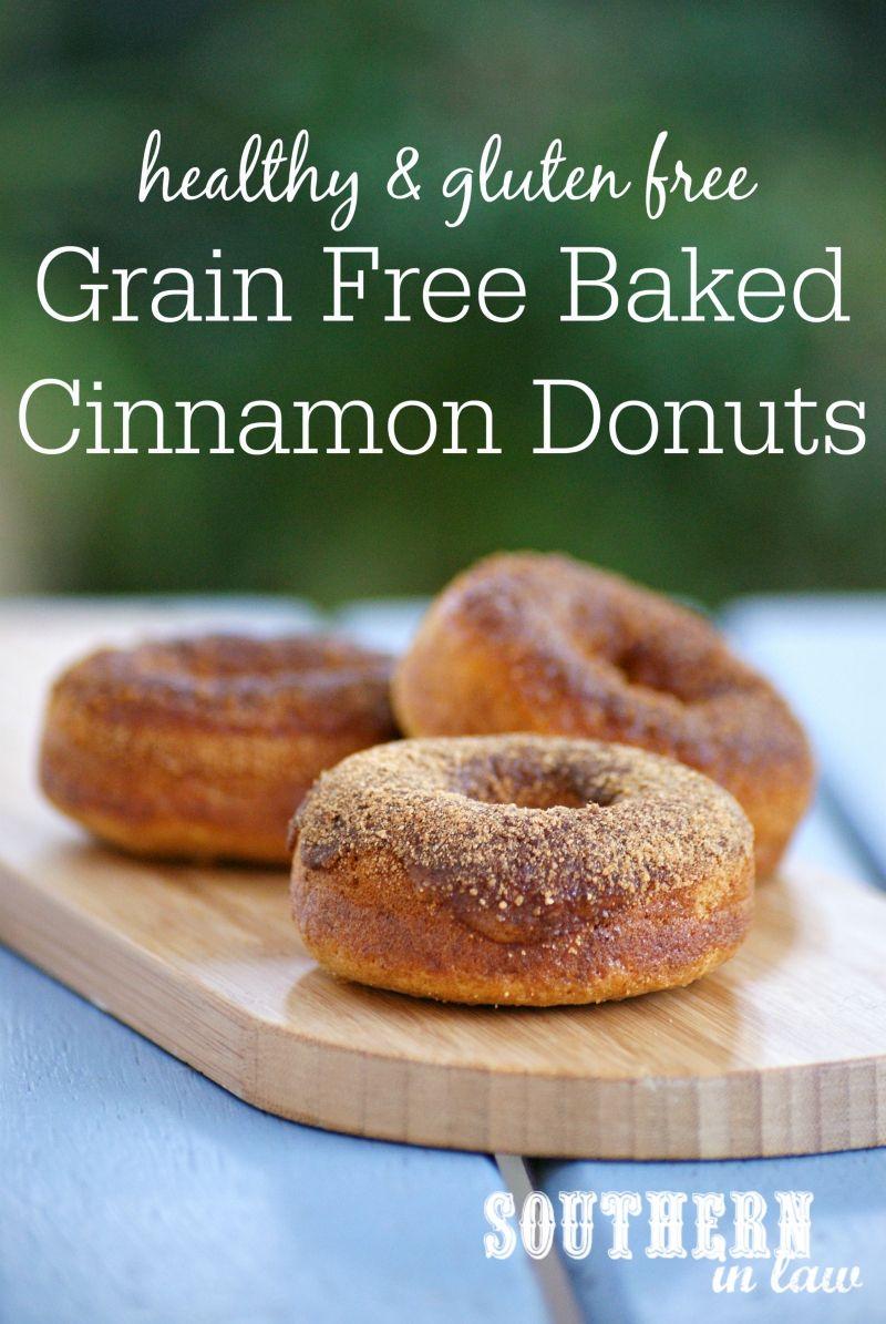 Recipe Grain Free Cinnamon Sugar Baked Donuts Refined Sugar Free