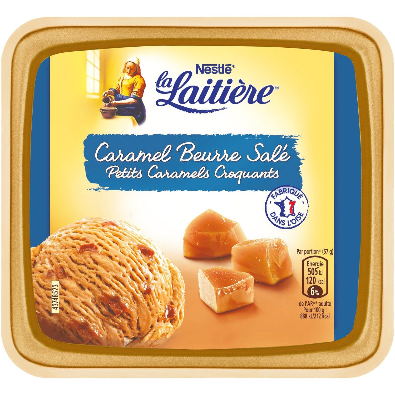 glace en bac caramel beurre sale la