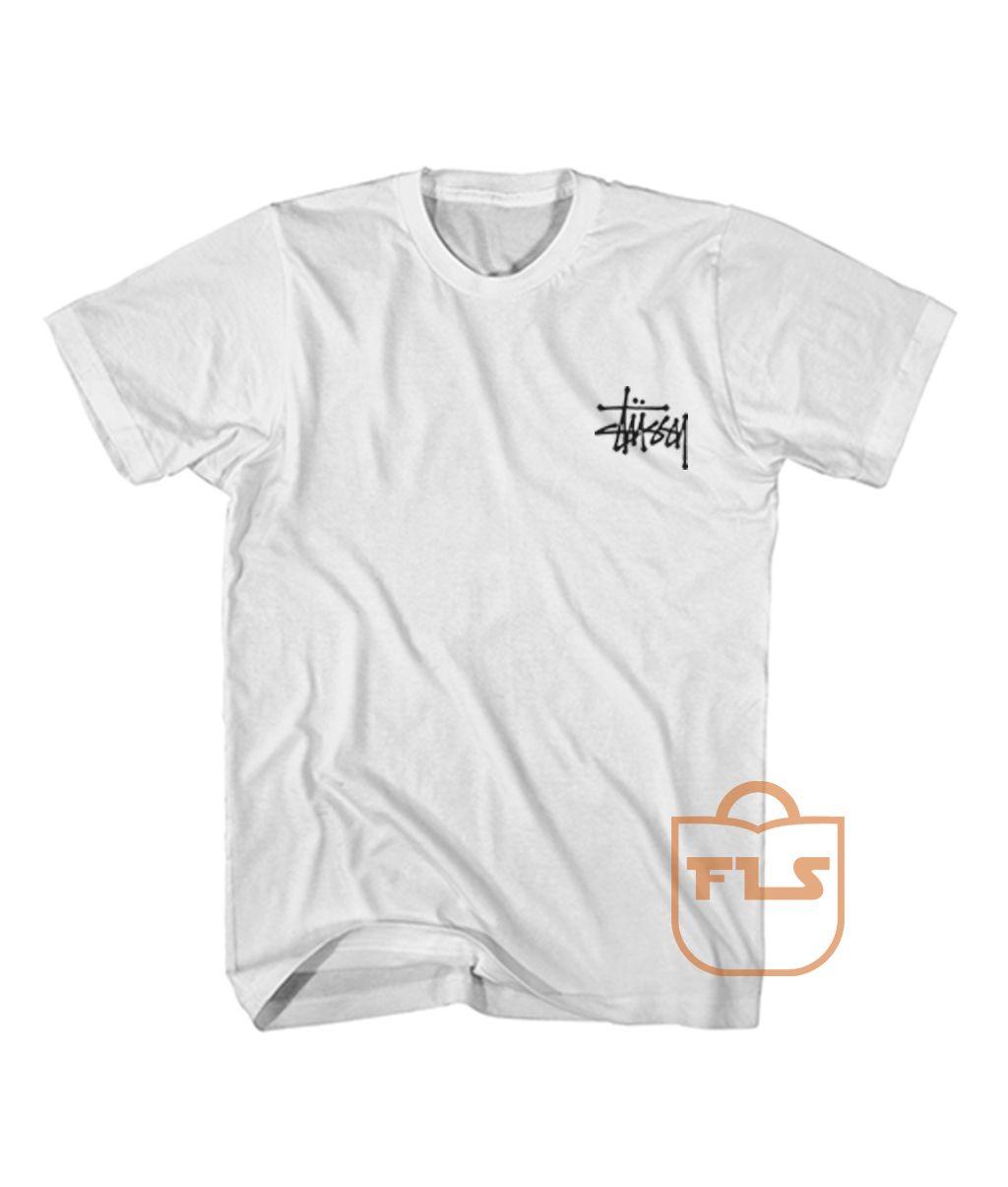 86d67e03 Buy Stussy Signature Pocket Men's Women's T Shirt - Price: $14.45 -  Ferolos.com #christmasgift
