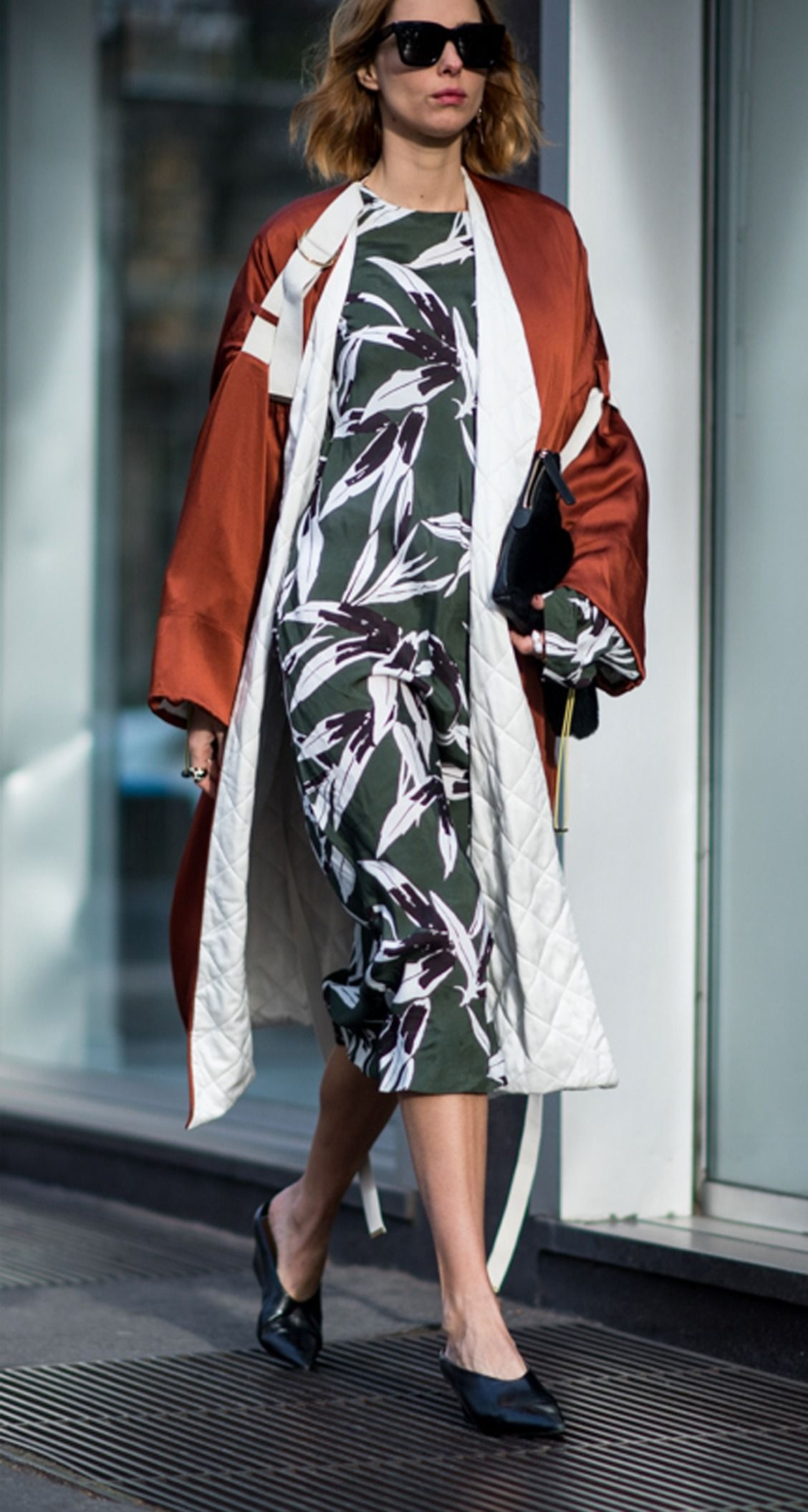 Marni prints on the streets of Milan
