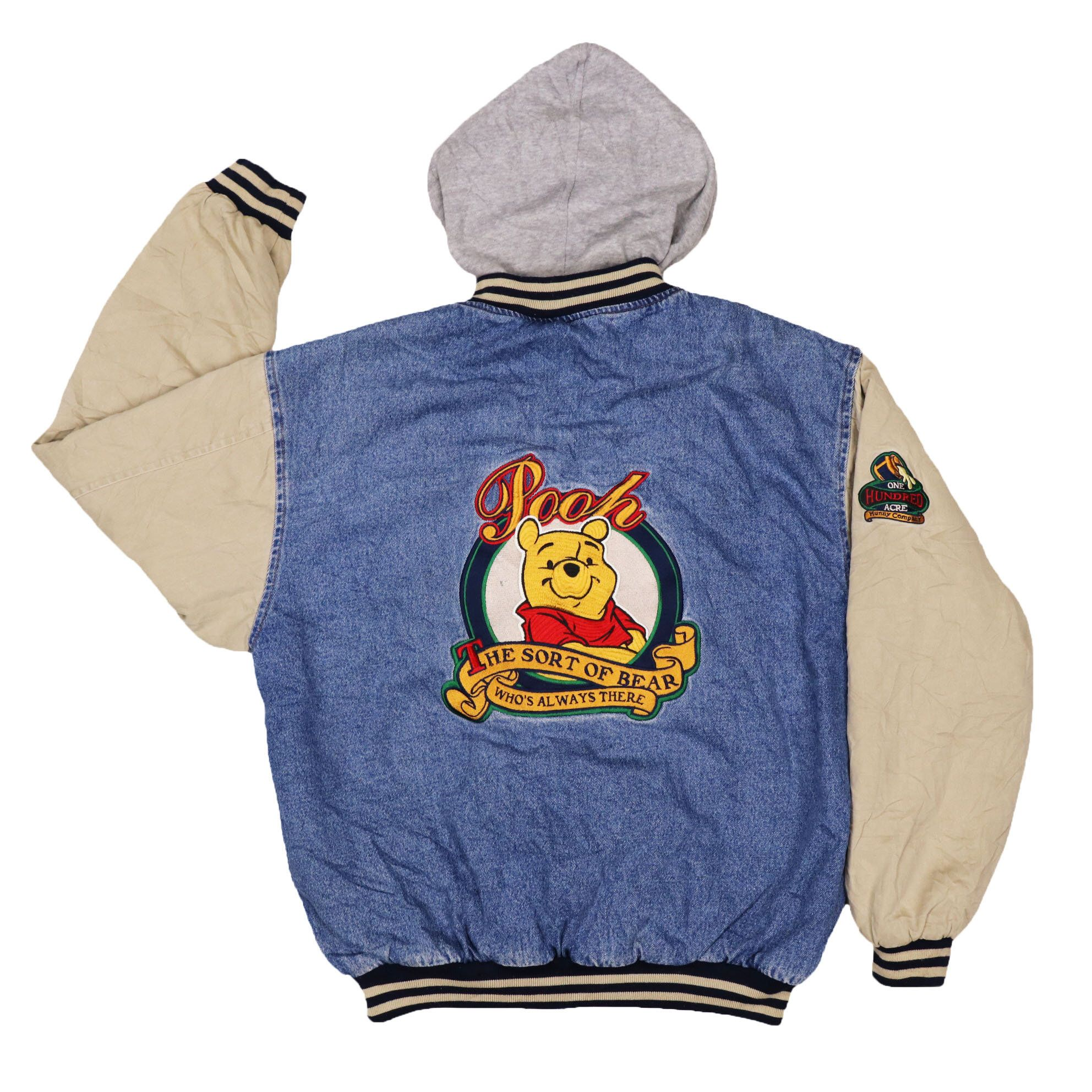 Excited To Share This Item From My Etsy Shop Vintage Disney Store Winnie The Pooh Varsity Jacket Disney Inspired Outfits Varsity Jacket Outfit Varsity Jacket [ 1984 x 1984 Pixel ]