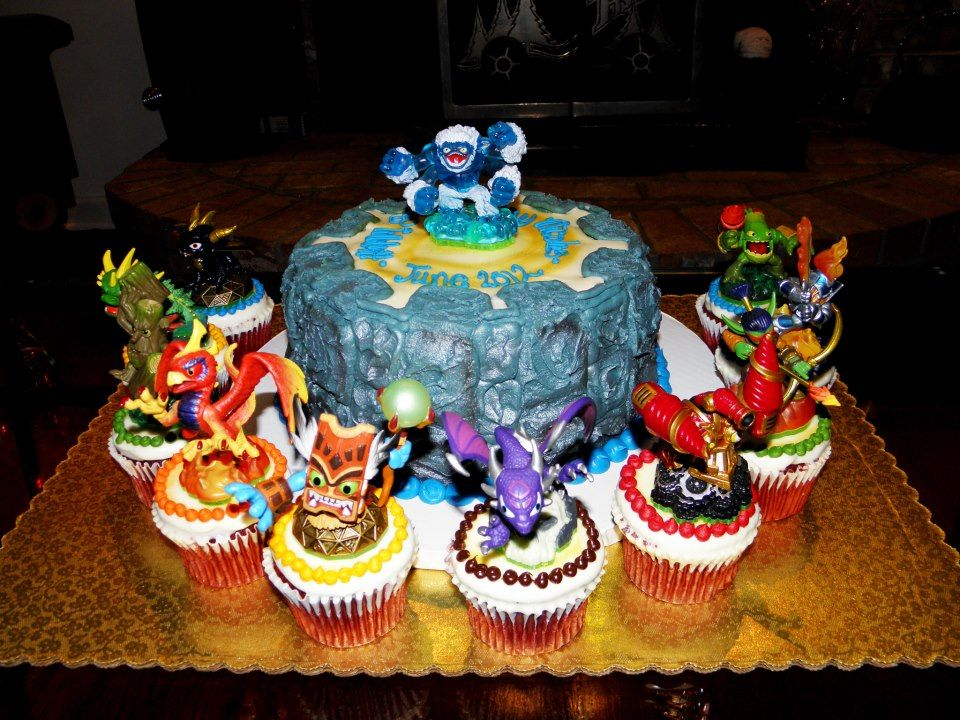A Skylanders cake from our Facebook fan Nico Thanks for the