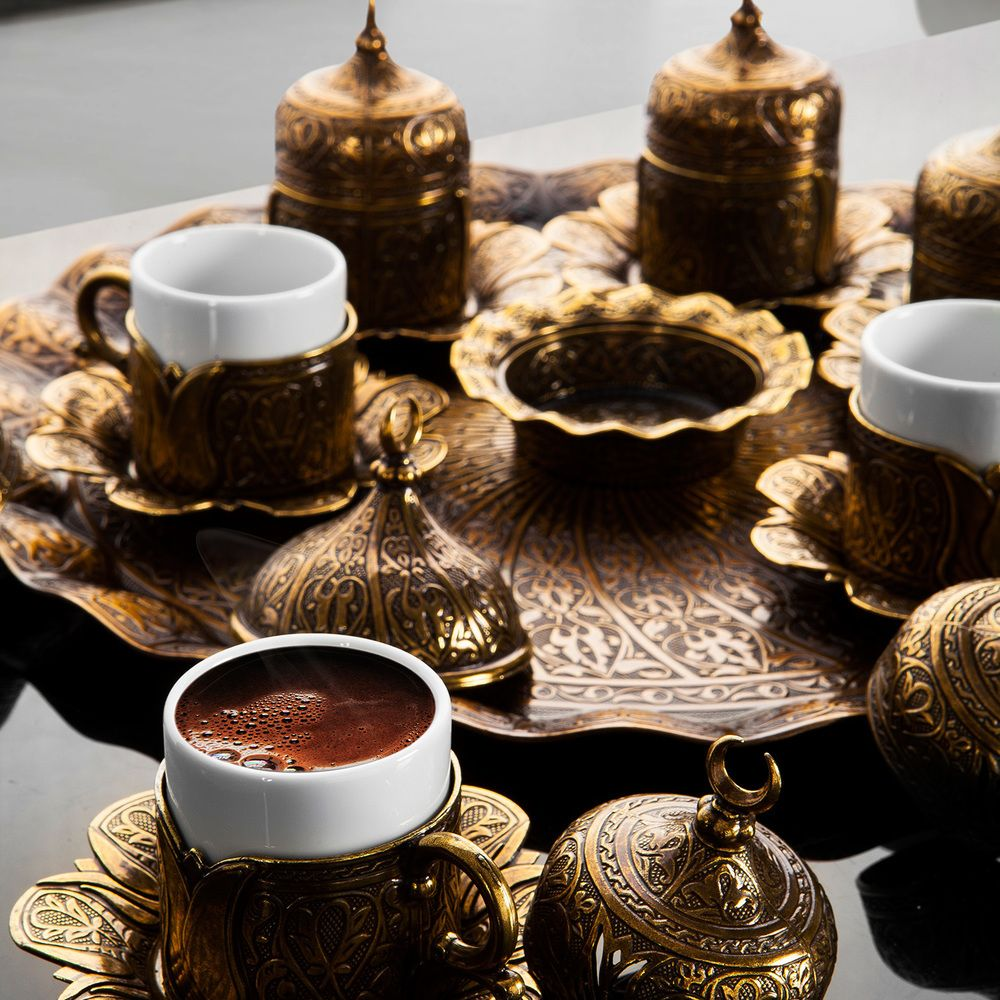 Medium Of Turkish Espresso Cups