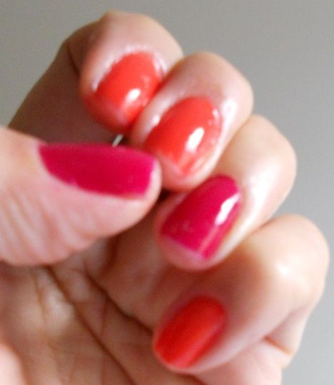 vermelho-rosa  red pink