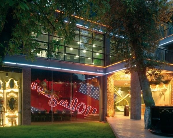 Ogilvy Mather Guangzhou Moderne Bürogebäude Glasfassade