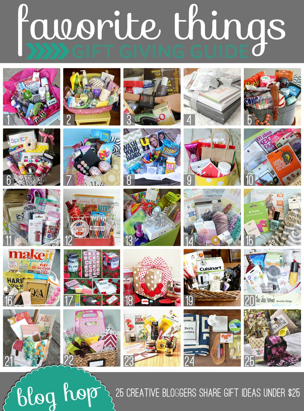 favorite-things-gift-guide and giveaway!! 25 bloggers giving away a basket full of their favorite things... be sure to enter. :)