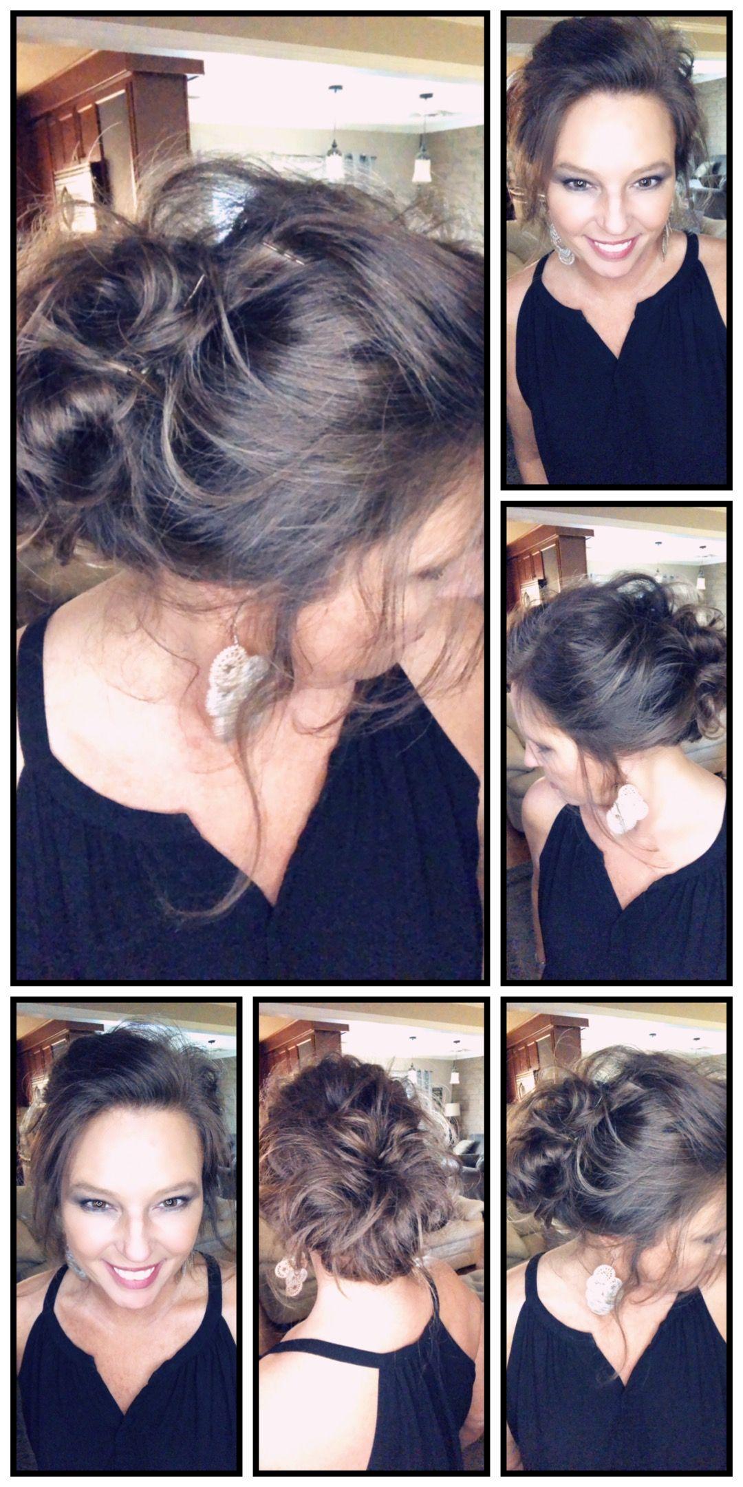 Hair tutorials hair styles pinterest easy hair messy buns and